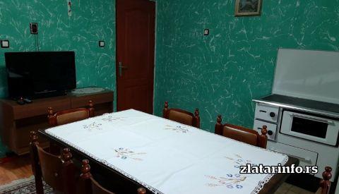 Dnevna soba - Seosko domaćinstvo Bjelić Rutoši