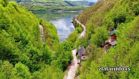 Zlatarsko jezero - Burađski zaliv
