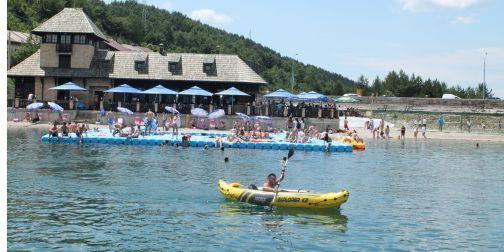 Визиторски центар на Златарском језеру