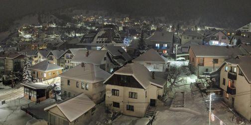 Nova Varoš prekrivena snegom