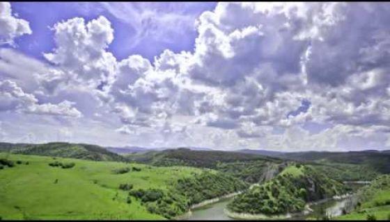 Planina Javor i kanjon reke Uvac - Timelapse video snimak