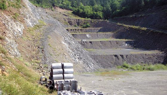 Gradilište deponije Banjica, u selu Čelice