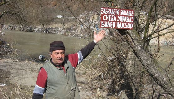 Ругло - Лим поткопава дивљу депонију Пријепоља
