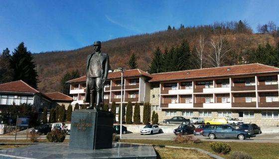 Trg vojvode Petra Bojovića Nova Varoš