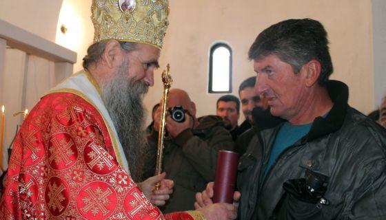 Zahvalnost darodavcu zemljista Mihailu Bojanovicu