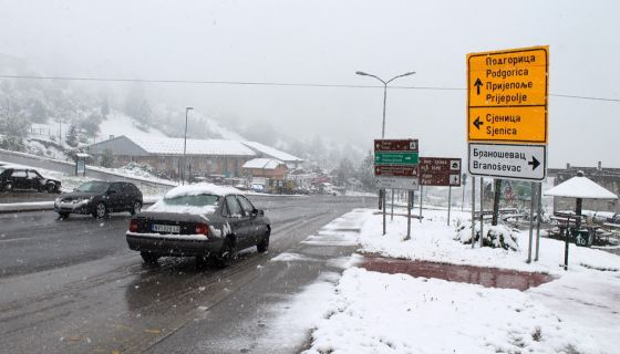 Sneg u Maju 2016. Nova Varoš