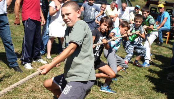 Окушали снагу - дечаци из Доброселице -  Ливадафест 2016