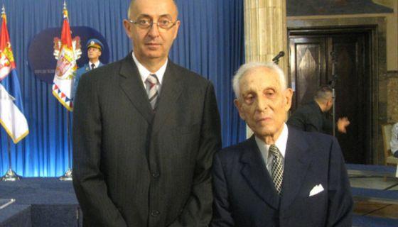 Радивоје Бојовић и Коста Ракић