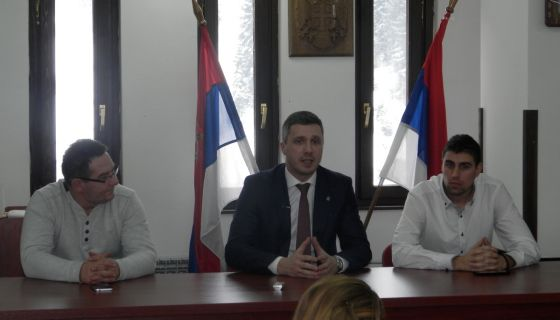 Бошко Обрадовић у посети Новој Вароши и Златару