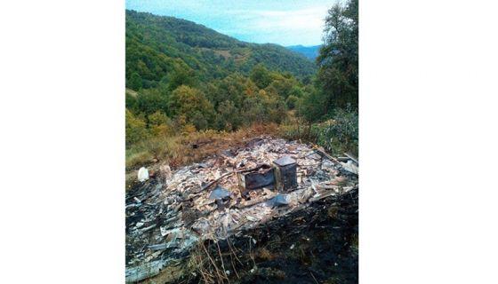 Изгорела кућа у Сјеници, Миломир Средојевић остао без ичега