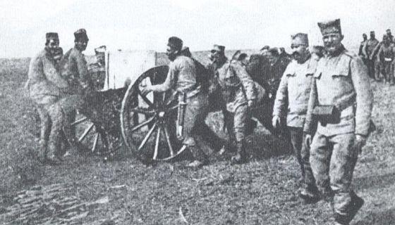 Српска артиљерија у Првом балканском рату