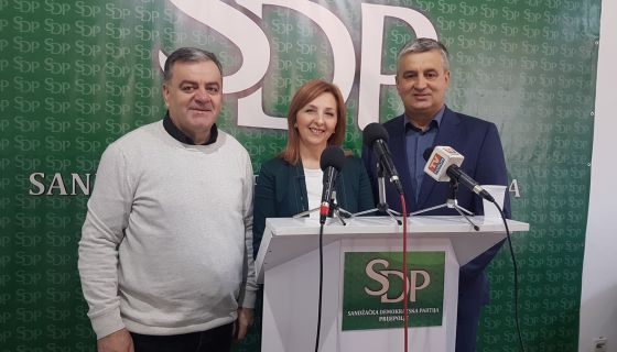SDP podneo krivicnu prijavu direktorki centra za socijalni rad- Prijepolje