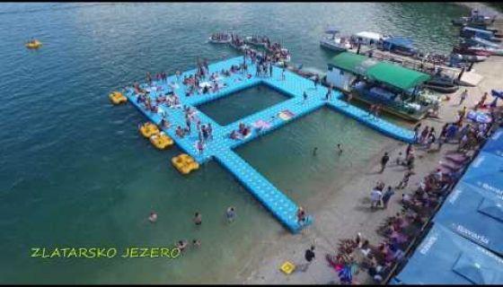 Zlatarsko jezero (snimak iz vazduha) - TV5