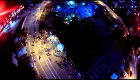 Zlatarfest 2013 iz vazduha
