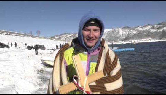 Пливање за богојављенски крст 2016 - Златарско језеро