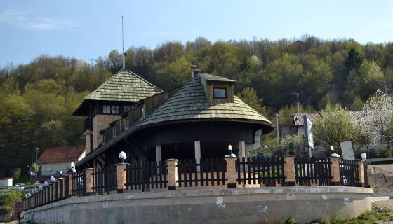 Vizitorski centar na Zlatarskom jezeru