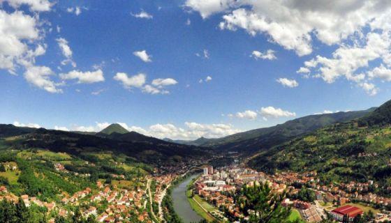 Panorama Priboja