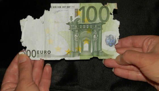Miševi pojeli evre