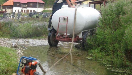 Cisterne, suša