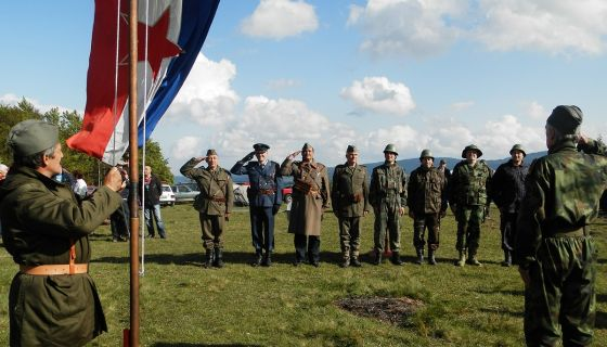 Pozdrav zastavi bivše Jugoslavije Dan mladosti