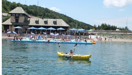 Визиторски центар на Златарскогм језеру
