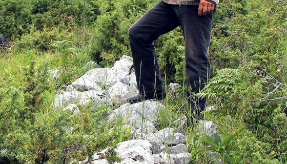 Булдожер је, коначно, спојио два Трудова - Остаци каменог зида на српско-турској граници