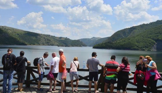 Визиторски центар - Увачко језеро - Лето 2016