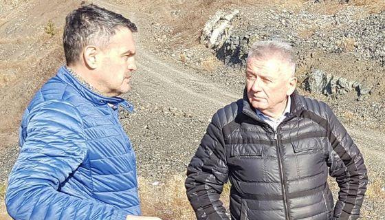Nikola Jelić predsednik SO Nova Varoš sa liderom svoje stranke Velimirom Ilićem