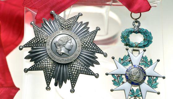 Орден Легије части - Војвода Бојовић одликован 41 пут