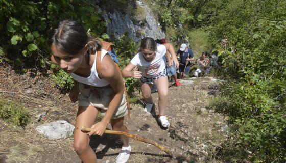 Uspon na vidikovac - Uvačko jezero
