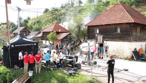 Камере, глумци, статисти и пиротехника окупирали Врело