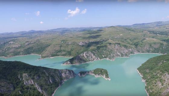 Увачко (сјеничко) језеро