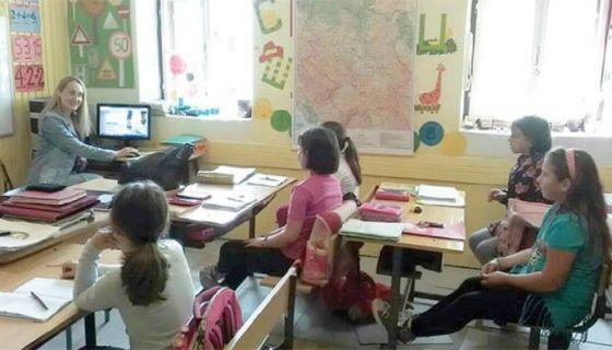 """Настава у ОШ """"Добрисав Добрица Рајић"""" / Фото А. Р."""