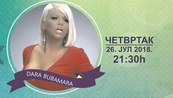 Концерт Даре Бубамаре - Златарфест 2018