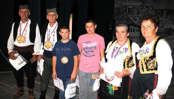 Прво место на Сабору – Миломир Стаматовић и Милутин Гујаничић  (фото: Д. Гагричић)