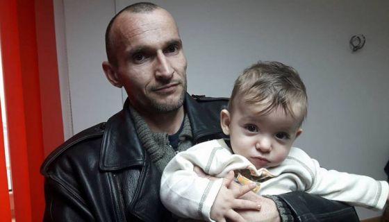 Самохрани отац од рођења води бригу о сину, Драган и Марко Обренић, фото: Глас западне Србије