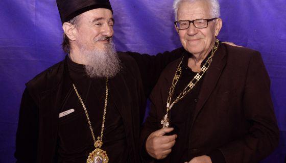 Владика Атанасије и Војим Вучићевић