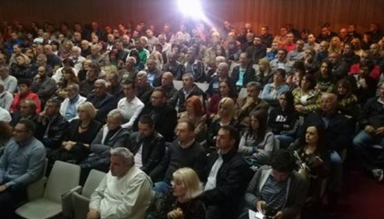 Трибина Савеза са Србију у Новој Вароши