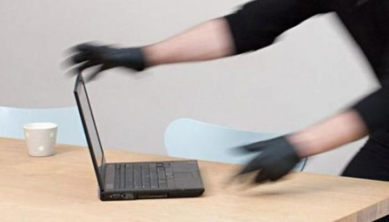 Ilustracija / kradja laptopova