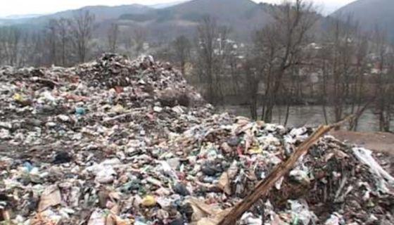 Депонија Стањевине у Пријепољу, фото: ГЗС