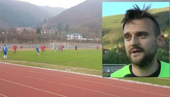 Детаљ са данашње утакмице Полимља /Емир Хамзић/