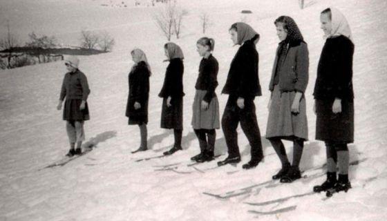 Час скијања 1958. у Катићима