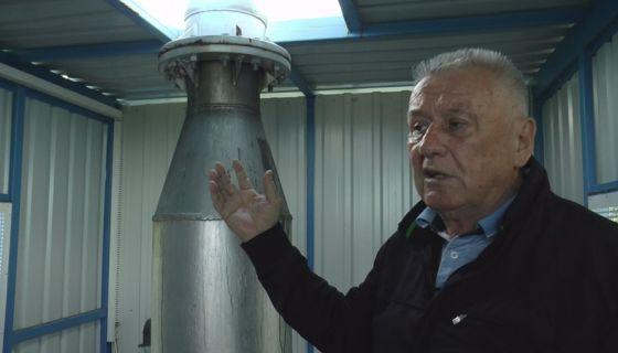 Противградни топ на имању Велимира Илића, фото: РИНА