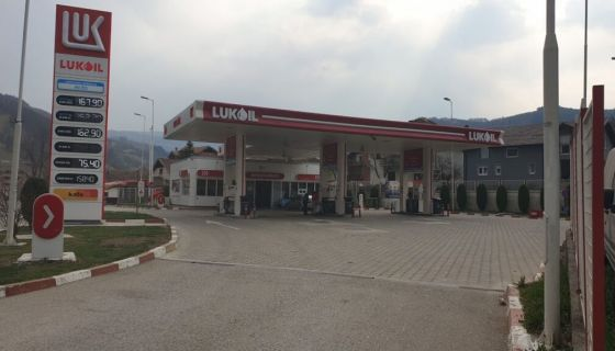 Бензиска станица у Бродареву