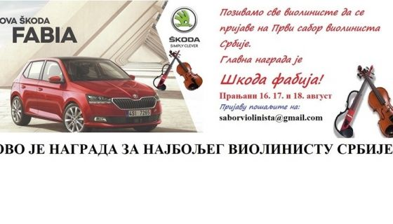 Violinisti - sabor- škoda