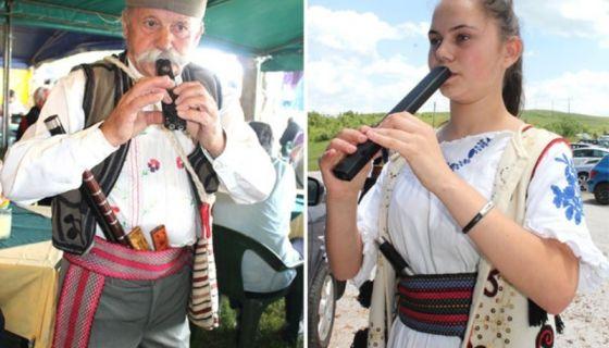 Стара ношња и инструменти / Маријана Обрадовић