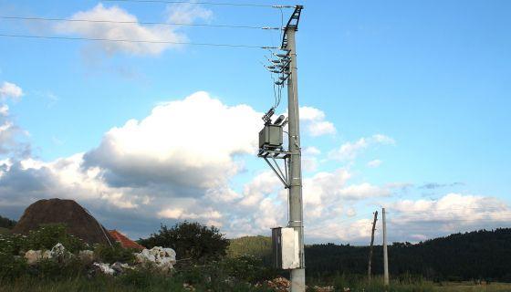 Чекају прикључак – трафостаница у Дебељи (Фото: Д. Гагричић)