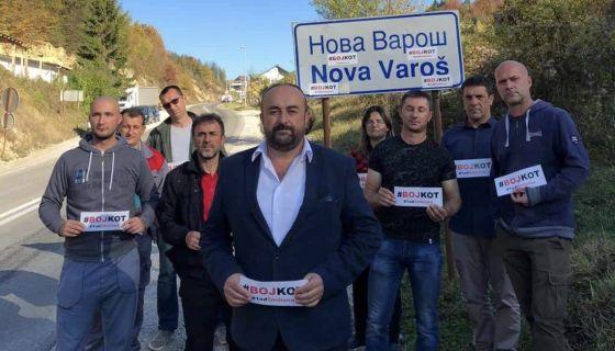 Jakovljević u Novoj Varoši: Dužnost je pružiti otpor bojkotom