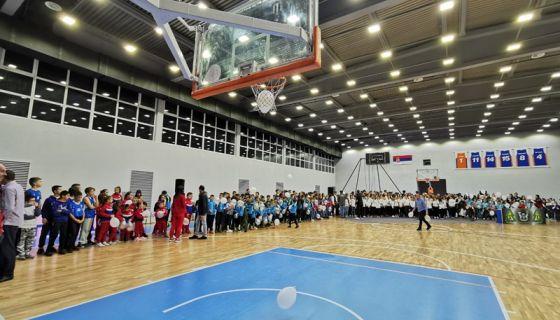 Свечано отворена спортска хала у Чајетини капацитета 1.000 места, фото: РИНА
