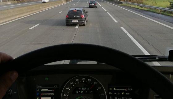 volan- vozač